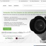 Geld verdienen mit dem Verkauf von Fotos über Fotolia