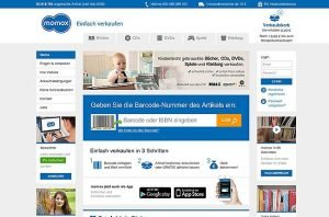 Sofort online Geld verdienen mit Momox – Gebrauchte Waren verrkaufen
