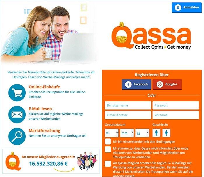 Online Geld verdienen mit Quassa